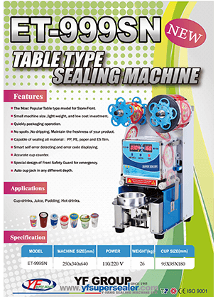 ET-999SN Table Type Sealing Machine